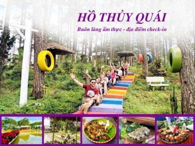 Hồ Thủy Quái Đà Lạt - Buông làng ẩm thực